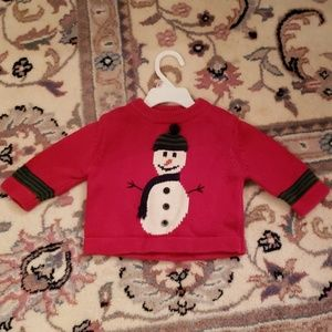 Super Cute Snowman Sweater